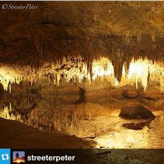 Dream Lake, Luray Caverns, VA #discoveryaday #luraycaverns | From @streeterpeter