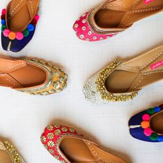 Designer bridal Jutti's by Pastels and Pop