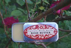 Bulgarian Rose Vegan Body Butter Rich & Silky by UpstateHerbWorks, $5.50