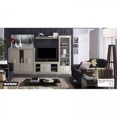 Composición salón Burdeos 01,Consigue el ambiente acogedor y aireado que buscas con esta composición de Salón modular de 310 cm. fabricada en madera maciza y acabados en color madera o lacado de la máxima calidad, además de estos módulos disponemos de más artículos para poder