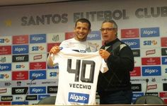 """Vecchio explica escolha pelo Santos e diz: """"Minha mulher queria me matar""""  http://santosfutebolarte.omb10.com/SantosFutebolArte"""