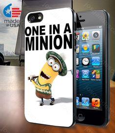 One In A Minion Despicable Me Minion Quote for by josgandoscase, $14.79