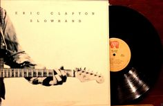 "Eric Clapton ""Slowhand"" 12"" LP 1st Pressing 1977 RSO RS-1-3030 Gate-Fold VG++ #BritishBluesBluesRock"
