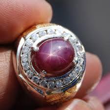 Jenis Batu Cincin Akik Termahal Indonesia dan Dunia / BATU PERMATA STAR RUBY TANZANIA