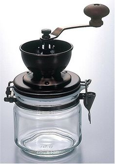Manual grinder... Canister C Coffee Mill by Hario