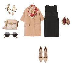 """""""Untitled #535"""" by elenekhurtsilava ❤ liked on Polyvore featuring Marni, T By Alexander Wang, Jessica Simpson, Melissa Joy Manning, Elizabeth Cole, Sole Society, GetTheLook and winterstyle"""