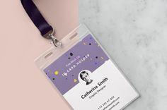 Psd Identity Card Holder Mockup Vol2
