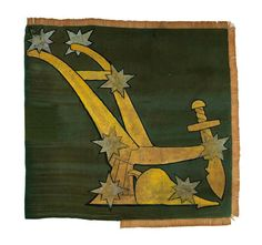 The Starry Plough flag has been in the possession of the National Museum (NMI) since 1956 and has recently been conserved in commemoration of the centenaries of the foundation of […] Republic Symbol, Kitsch Art, Easter Rising, Irish Art, High Fantasy, Arts And Crafts Movement, Large Painting, National Museum, History