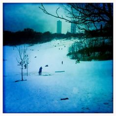 Modern-day Kurelek-esque scene at Riverdale Park East, Toronto. Toronto Canada, Scene, Mountains, Park, Modern, Nature, Travel, Voyage, Trips