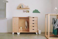 해치지 않아요~ 집 인테리어를 오히려 돋보이게 만드는 아이 가구 : 네이버 블로그 Drawer Design, Cupboard Design, Cupboard Storage, Baby Bedroom, Baby Room Decor, Plywood Furniture, Kids Furniture, Multipurpose Furniture, Closet Shelves