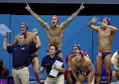 Water Polo US VS GREAT BRITAIN. On Demand here I come!