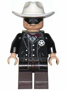 Genuine Lego The Lone Ranger With Hat Minifigure Figure TLR001 LEGO Bau- & Konstruktionsspielzeug