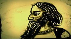 Sand Art: Rabindranath Tagore