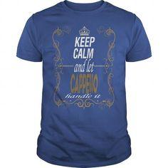 I Love Let CAPPELLO handle it T shirts