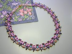Tutorial - Dantella Necklace - Arcos and Minos, Kheops, Super Duo and pearl…