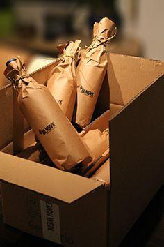 Das Blindverkostung Wein-Paket. Alle Weine werden blickdicht eingepackt geliefert. Es kann direkt losgehen.