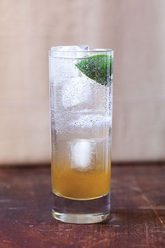 Bar Code Tonic (where the gin is infused with the tonic - just add club soda to make a G&T) | SAVEUR