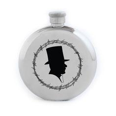 Ruffian x Izola Gentleman Silhouette 5 oz. Flask