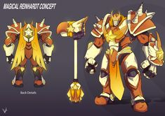 See more 'Overwatch' images on Know Your Meme! Game Character Design, Character Concept, Character Art, Concept Art, Skins Characters, Fantasy Characters, Overwatch Skin Concepts, Overwatch Fan Art, Knight Armor