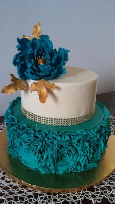 Torta compleanno by Cakemomi