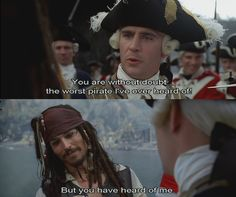 "Commodore Norrington, my second favorite character from the ""Pirates"" series"