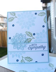 Sherry's Stamped Treasures: Flourishing Phrases and a Soft Color Combo