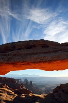 Mesa arch Sunrise - Canyonlands National Park, Utah