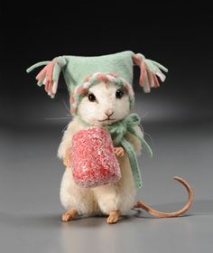 Sugar (new) Christmas mouse......Oh if only I were rich...LOVE