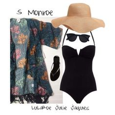 LuLaRoe Outfit featruing the LuLaRoe Monroe Kimono. Perfect for a summer day by the pool.