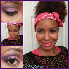 My #fotd for the division carnival!! I have the purple pop quad on my eyes. Also I have hot pink on my lips!! All from the new #Avonmakeup #Avon #MakeupMaven #makeupjunkie #makeupaddict #lipstickmafia #lipstickgang #eotd #Megaeffects #makeup #beauty #beautyblogger