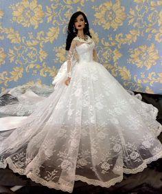 Veronique's beautiful gown
