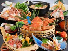 crab Japanese food