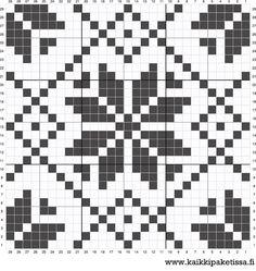 Coaster perler bead pattern by Kaikki Paketissa