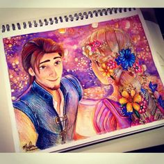 Tangled drawing. This is really good!