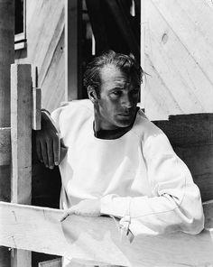Gary Cooper photographed by George Hoyningen-Huene (1934)