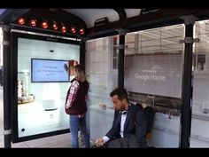 Google Home tuns bus shelters into a Smart Home | JCDecaux North America