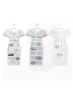 Dress Shape Jewelry Holder www.ShopTheShoppingBag.com