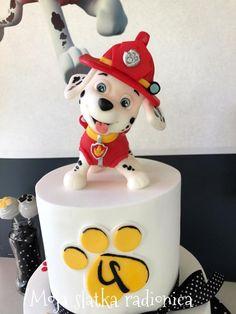 Paw patrol cake - cake by Branka Vukcevic Little Boy Cakes, Cakes For Boys, Paw Patrol Birthday Cake, Paw Patrol Party, Adult Birthday Cakes, Baby Boy Birthday, Fondant Cakes, Cupcake Cakes, Cake Disney