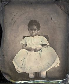 Unidentified African American girl, possibly a slave. :: Alabama Photographs and Pictures Collection