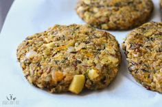 Butternut squash apple burgers with caramelized onion and sage aioli
