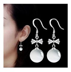 1c18bcb44 Women's drop 925 Sterling Silver Earrings High Quality Fine Jewellery