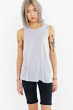 Project Social T Frankie Muscle Tee - Urban Outfitters