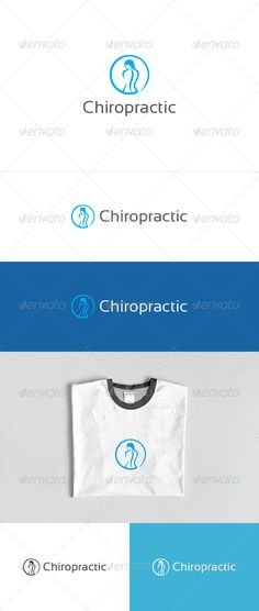 "Chiropractic Logo #GraphicRiver cAn excellent logo template in high quality and easy to use with editable font and colors. Included are: Ai (Cs and Cs5 version, vector, CMYK color) EPS (10 and Cs5 version, vector, CMYK color) PSD (Cs5 version, pixel resolution 300dpi, CMYK color) Help file (download font link included) Please click the screenshots button to see what logo versions are included and how they can be applied in different materials (NOTE only the files with text ""included in final…"