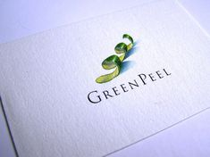 love the simple yet vibrant watercolor logo