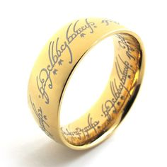 8Mm Black Tungsten Ring Rose Gold Celtic Dragon Blue carbon fibre