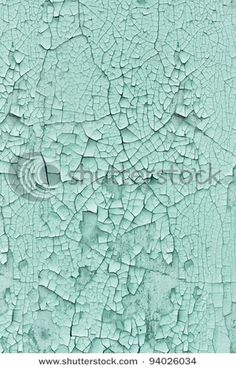 Vertical grunge background - wall covered with cracked paint - stock photo