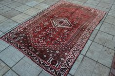 Vintage persian rug. Persian carpet. Tribal by Handcraftcollector
