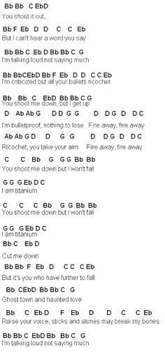 Flute Sheet Music: David Guetta
