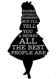 alice in wonderland quotes - Google-haku