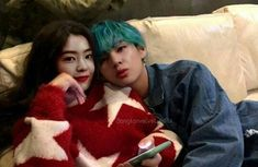 Kpop Couples, Cute Couples, Irene Kim, Just Beauty, Ulzzang Couple, Red Velvet Irene, Couple Aesthetic, Aesthetic Backgrounds, Boyfriend Material